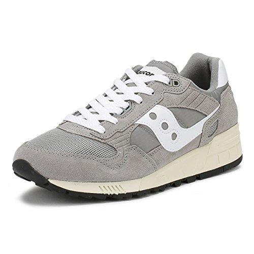 Saucony Herren Shadow 5000 Vintage Sneaker, Grau Grau (Gray 1)