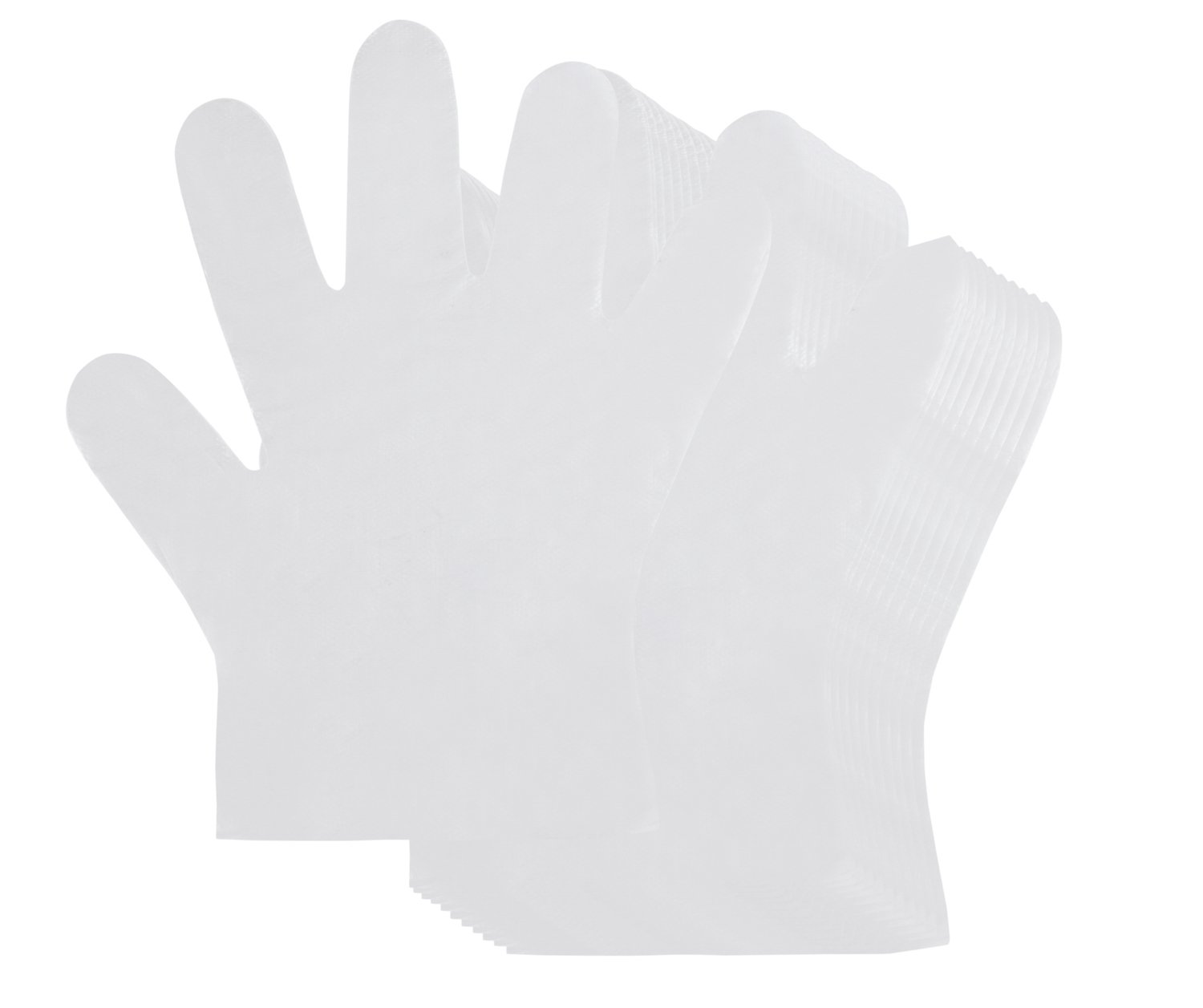 Multipurpose Disposable Gloves - 1000-Count Plastic Food Prep Gloves, Latex-Free Gloves, Ideal for Children Arts and Crafts, and Painting - Transparent, Kids Size, 7.5 x 6.3 Inches