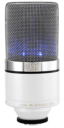 Price comparison product image MXL 990 Blizzard Limited Edition Condenser Microphone