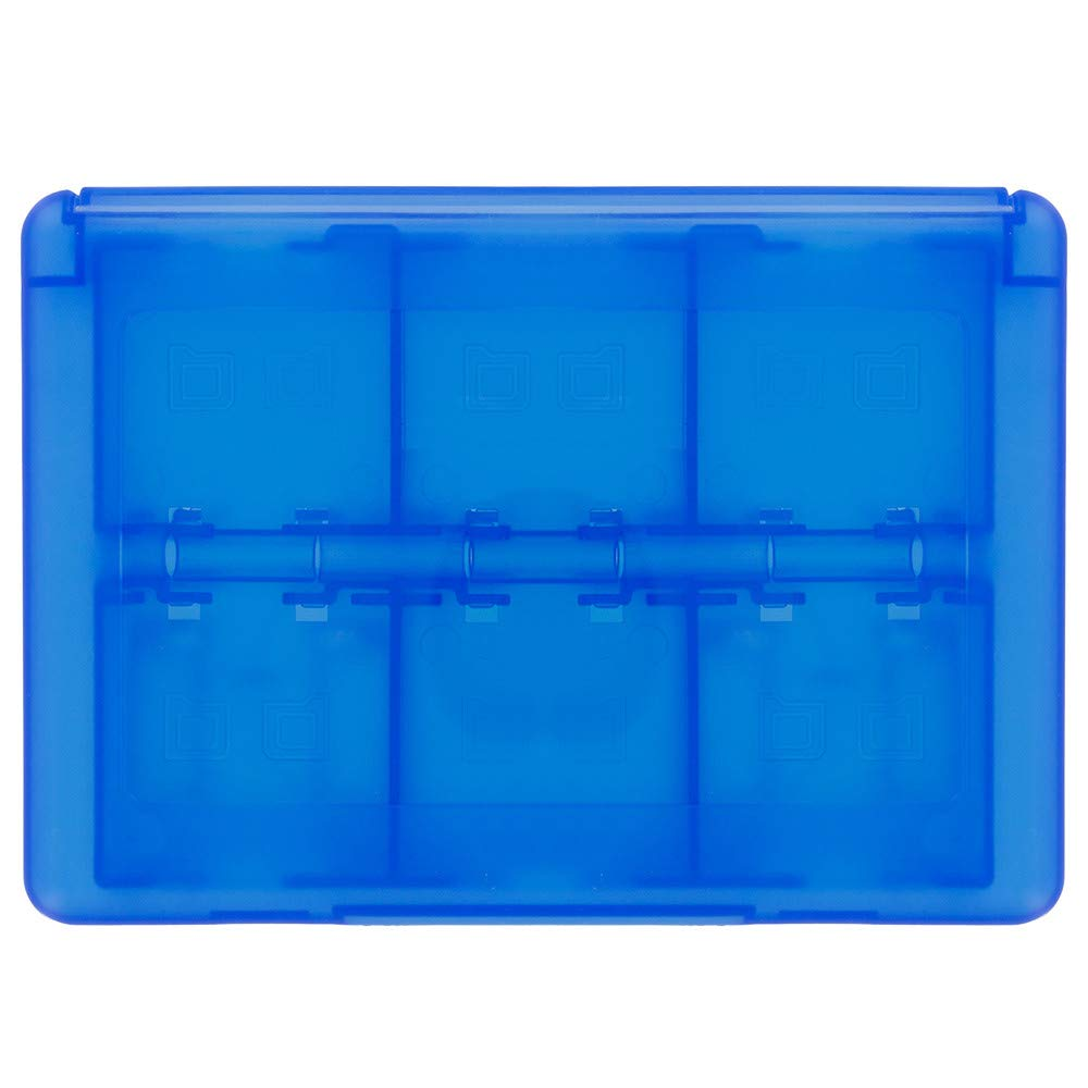 Universal Plastic Game SD TF Card Case Cover Organizer for Nintendo Switch (Blue) by Kintaz (Image #4)