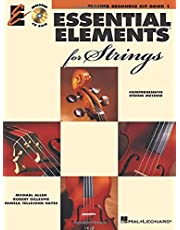 Essential elements 2000 for strings - book 1 +cd