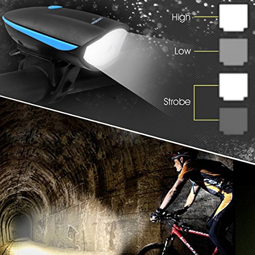 DARKBEAM Mountain Bike Headlights Led Rechargeable USB Bright Headlight Bicycle
