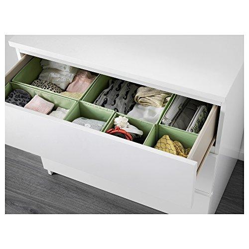 ikea-drawer-storage-organizer-box-bin-tote12-pieces-light-green