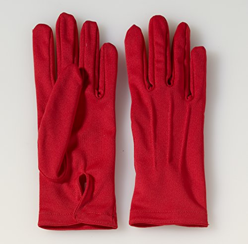 Forum Novelties Short Colored Gloves