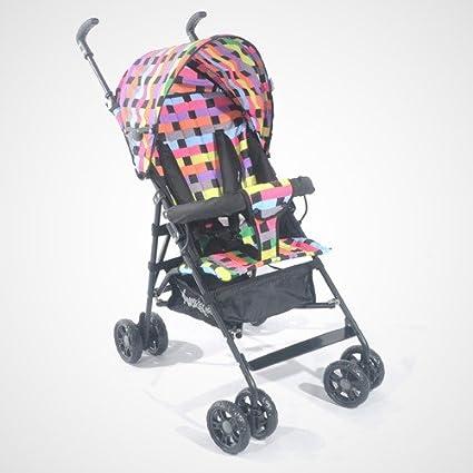 kidmeister Buggy Jogger Baby Asiento Buggy cochecito bebé carro OVP cuadros