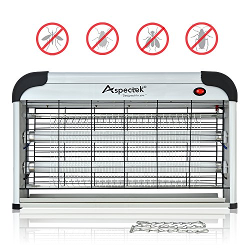 Aspectek - Professional Electronic Indoor Insect Killer, Bug Zapper, Fly Zapper, Mosquitto Killer, 30W UV Bulbs for Home & Commercial Use