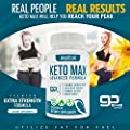 Keto Diet Pills - Utilize Fat for Energy with Ketosis - Boost Energy & Focus, Support Metabolism, Manage Cravings - Keto MAX Supplement for Women and Men - 30 Day Supply...