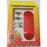 4CFB Complete Wooden Fingerboard 32mm Laser Engraved JK-A Mold