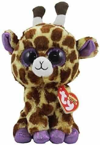 a6eae1ea7cf TY Beanie Boos - SAFARI the Giraffe (Glitter Eyes   Metallic Feet) (Regular