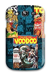Tpu Shockproof/dirt-proof Horror Comix Paper Living Cover Case For Galaxy(s3)