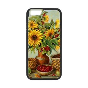 sunflower Pattern Back Case Cover for iphone 6