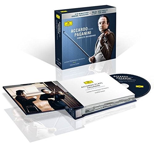 Price comparison product image Accardo Plays Paganini - The Complete Recordings [6 CD / Blu-ray Audio Combo]