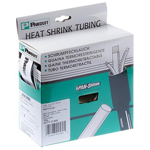 - Panduit HSTT50-QC Thin Wall Heat Shrink Tubing, Clear