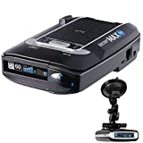 Escort Max 360 Radar Detector + RadarMount Suction Mount Bracket for Radar Detectors