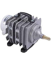 ZOIC Commercial Air Pump, 20W 20L/MIN 240V Electromagnetic Hydroponics,Aquarium,Pond Air Pump for Fish Tanks (20W 20L/MIN)