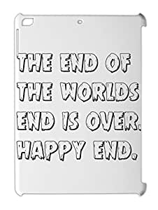the end of the worlds end is over. happy end. iPad air plastic case