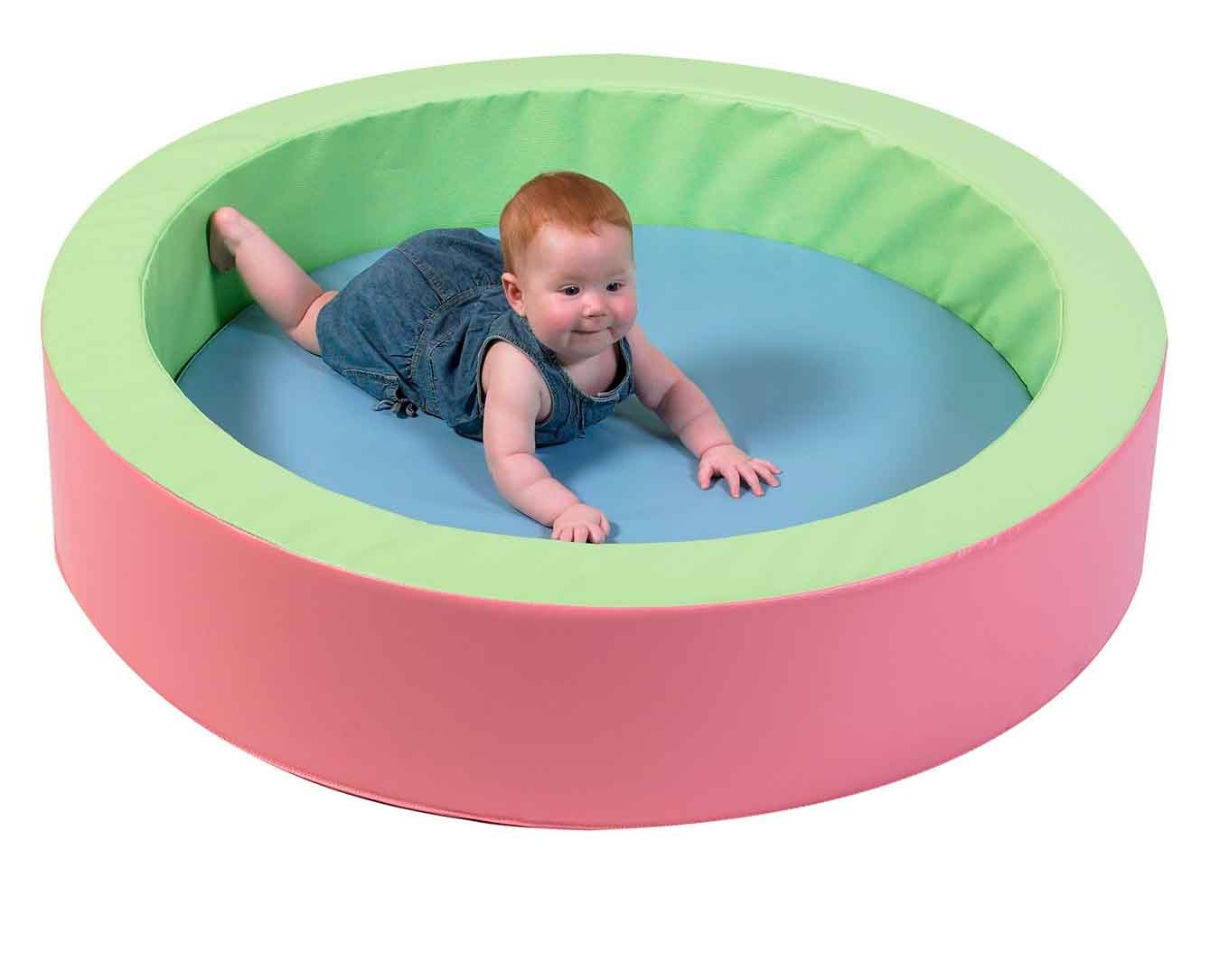 Children's Factory Toddler Hollow Nesting Circle - Pastel Colors
