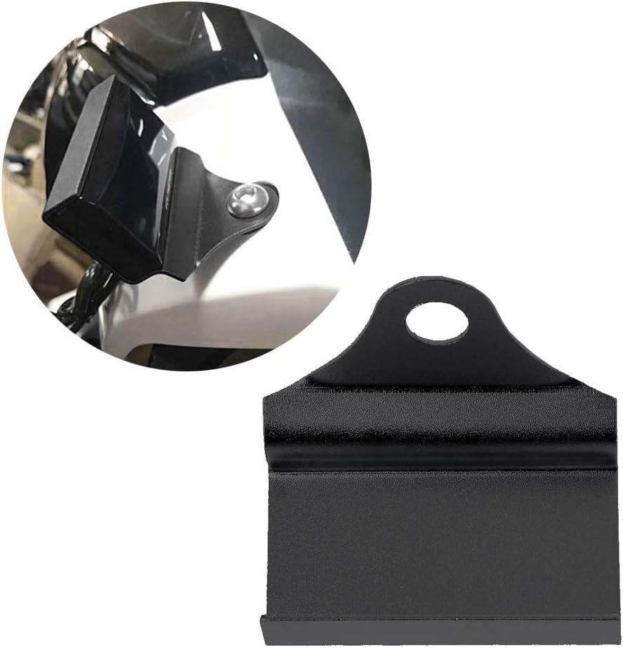CADANIA Universal Motorrad Halterung f/ür Wassertemperaturanzeige Voltmeter Thermometer Drehzahlmesser Schwarz
