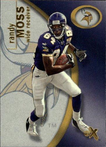 - 2001 EX Football Card #76 Randy Moss