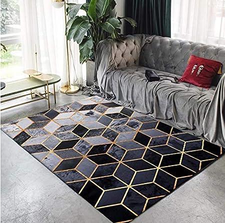 Qnyh Tapis Geometrique Tapis Nordiques De Salon Table Basse