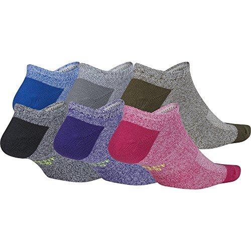 NIKE Women's Everyday Lightweight No-Show Socks (6 Pair) zviqoKj