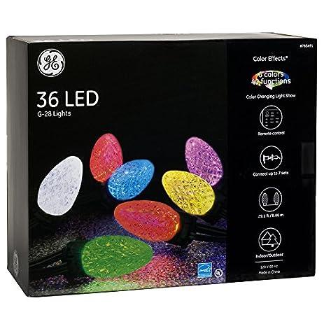 Ge Color Changing Christmas Lights