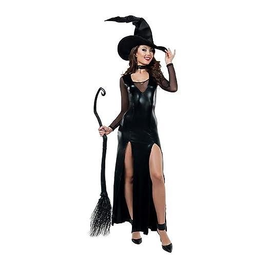 Ambiguity Disfraz de Halloween Mujer Bruja de Halloween Negra ...