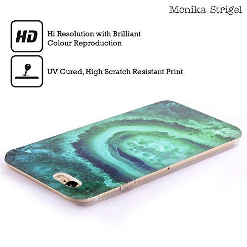 Officiel Monika Strigel Émeraude Améthyste Étui Coque en Gel molle pour Apple iPhone 6 / 6s