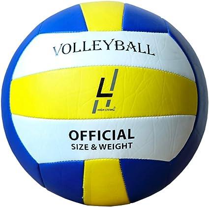 Highliving ® - Pelota de Voleibol de Voleibol de Piel sintética de ...