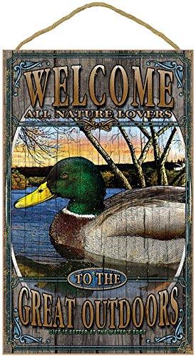 SJT ENTERPRISES, INC. Mallard Duck Welcome Sign 10