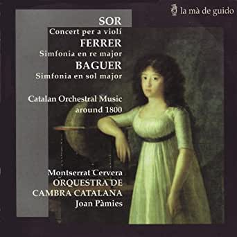Amazon.com: Catalan Orchestral Music Around 1800: Orquestra ...
