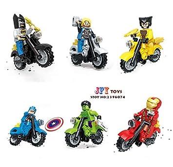 Amazon.com: 60pcs Starwars Super Heroes Marvel Ninja ...