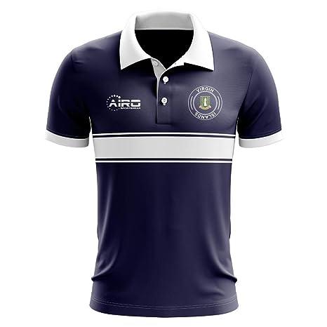 Airosportswear - Polo de fútbol para niños, diseño de Rayas de Las ...