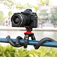 Flexible Camera Tripod Mount & Selfie Stick for Sony Action Cam, Gopro Hero Action Camera, SJCAM, Cell Phone, iPhone 8 7 6+ 6s Canon nikon DSLR and Camcoders from MEINUOKE Distribution