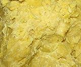 Pure African Yellow Shea Butter 25Lbs Premium 100% Natural Virgin RAW Organic Grade A Unrefined Ghana Skin Beauty Care Face Body Hair Scalp Non GMO 2.26Kg Karite by GREENandORGANIC