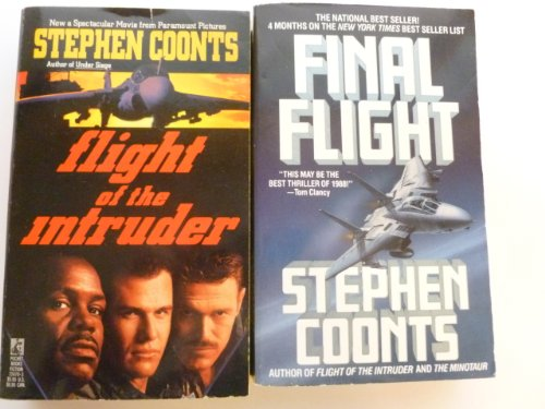 THIS DUO SET OF TWO '''FLIGHT OF THE INTRUDER '' & FINAL FLIGHT''