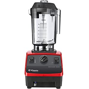 Vitamix 62825 Drink Machine Advance 48-Ounce Blender with Red Base (Replaces Models 5085, 5028, 5029)
