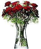 LSA International 29 cm Flower Mixed Bouquet Vase - Clear