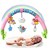 SKK BABY Musical Stroller Crib Activity Bar Toys Take Along Arch Gift For Newborn Infant