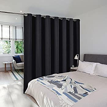 Merveilleux Room Divider Curtain Screen Partitions   NICETOWN Blackout Wide Width  Window Treatment, Blackout Curtain Panel
