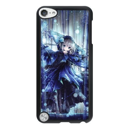 HD exquisite image for iPod 5 Case Black lolita girl in a bamboo forest AMI5550962