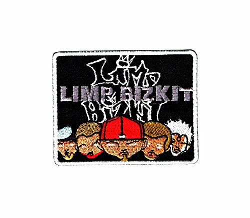 Limp Bizkit -An American Rap Metal Band- Embroidered Iron on Patch