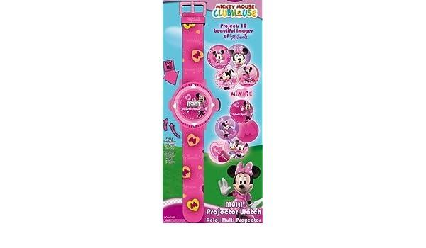 Reloj Proyector Minnie Disney: Amazon.es: Hogar