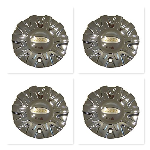 Diamo Chrome Wheels (4 Pack Diamo 38 Karat Chrome Wheel Rim Center Cap CAP M-468 S808-05 M468W)