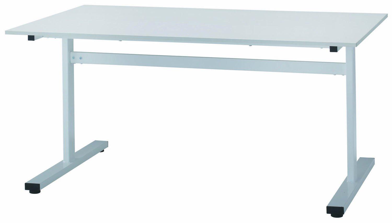 FAT-1590 テーブル ミーティングテーブル 会議用テーブル W1500*D900*H700mm [3色から選べる天板] 天板:16mm厚 T型デザインの脚 ホワイトフレーム 天板カラー:ホワイト(WH) B00JQV4RFI 天板:ホワイト 天板:ホワイト