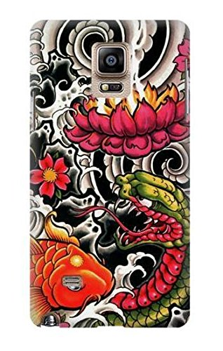 Amazon com: R0605 Yakuza Tattoo Case Cover For Samsung