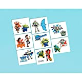 Amscan Toy Story Power Up Birthday Party Temporary Tattoos Favor (16 Pack), 2