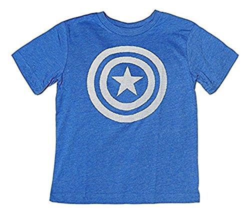 Marvel Avengers Captain American T-Shirt, Medium