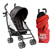 Summer Infant 3D Flip Convenience Stroller with Gate Check Bag, Double Take