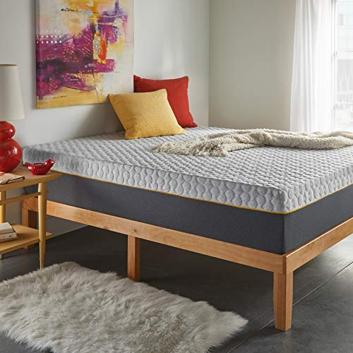 Early Bird 12-inch Hybrid Memory Foam and Spring Mattress, Medium Comfort, Mattress in Box, CertiPUR-US Certified Foam, no Harmful Chemicals, Handcrafted in The USA, 10 Year Warranty, King ()